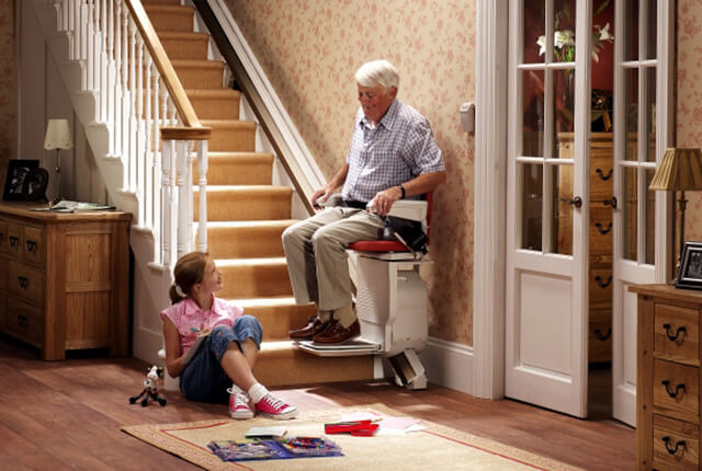 With The Addition Of A Stair Lift To The House, You Can Greatly Reduce This  Worry, And Make Life Easier For Everyone Around, Understanding That The  Stairs ...